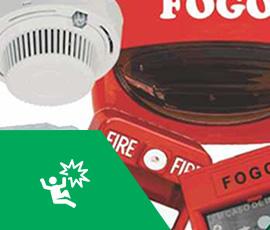 Sistemas de Iluminação de emergência, detecção e alarme de incêndios